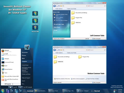 Barra De Tareas De Windows 7 Para Xp