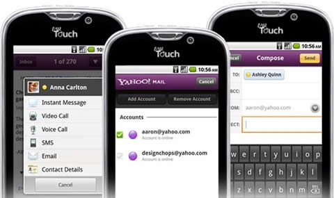 messenger yahoo android Yahoo mail y messenger para android se actualizan