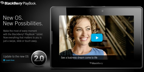 Playbook os 2 uptadte BlackBerry PlayBook OS 2.0 ya disponible