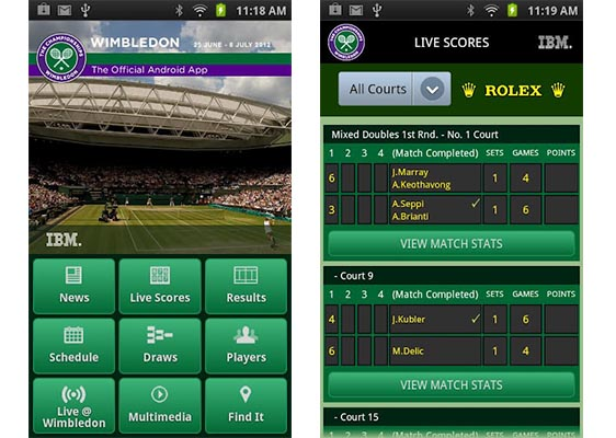 Wimbledon app android iphone Sigue en vivo Wimbledon desde tu iPhone y Android